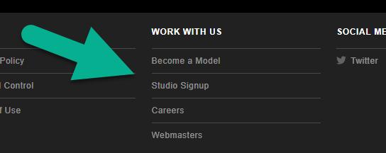 Stripchat studio account