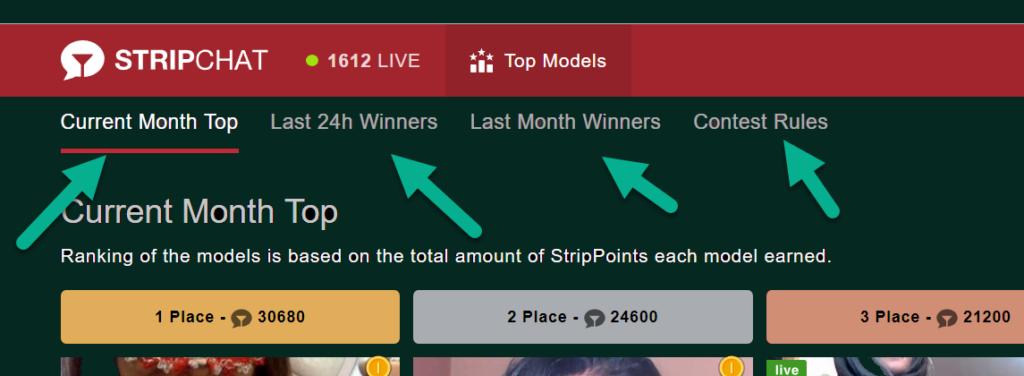StripChat top models