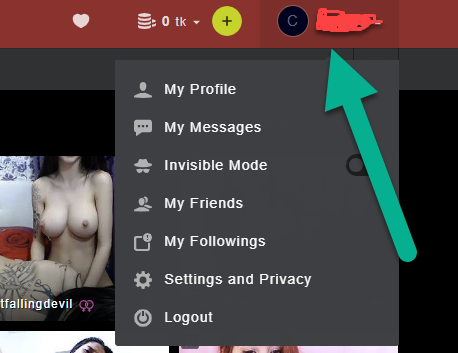 Stripchat username login