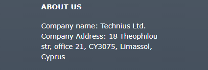 Stripchat mailing address