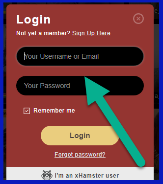 Stripchat login